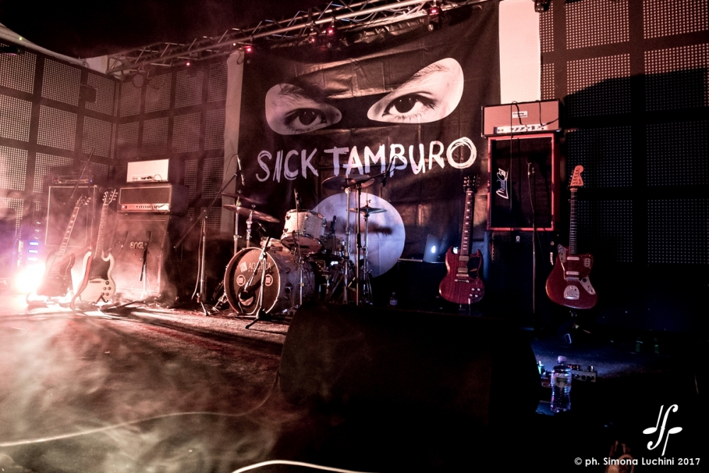 Sick Tamburo @ Serraglio, 5 Maggio 2017